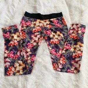 Floral Print Zara Trafaluc Leggings
